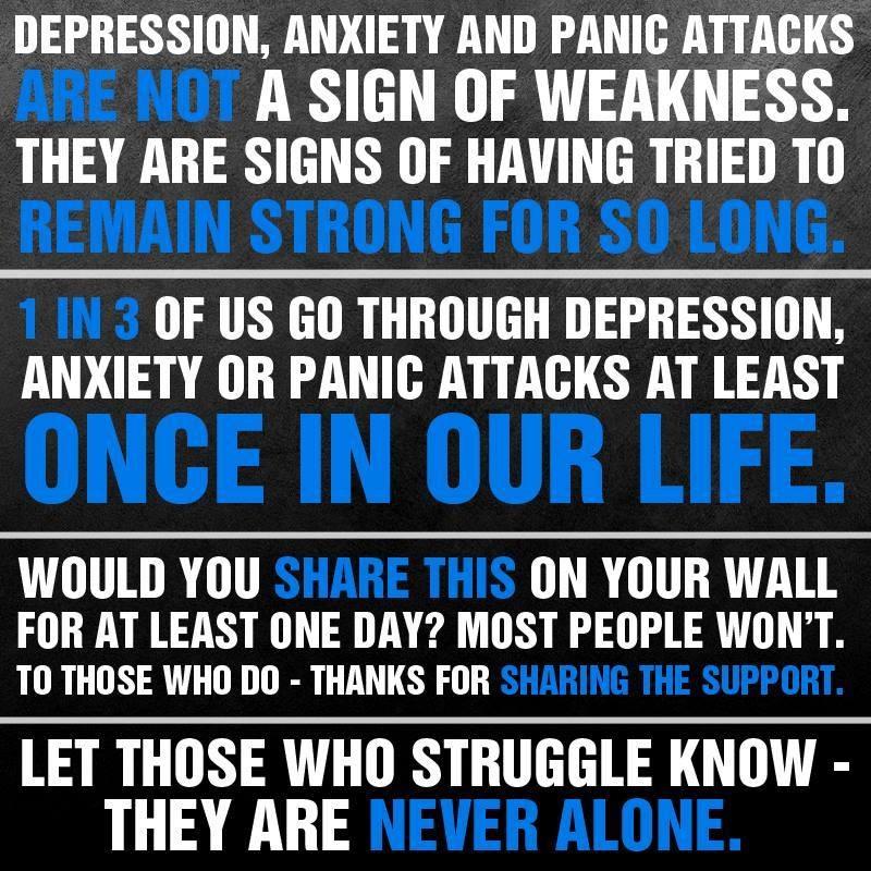 Depression Anxiety & Panic Attacks